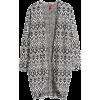 Jacquard-knit Cardigan - Cárdigan -