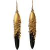 Jacqueline Cullen - Hand Carved earrings - Earrings -