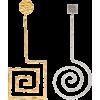 Jacquemus earrings La Spirale - Earrings -