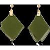 Jacquemus Gold-Tone Cotton Earrings - Kolczyki -