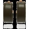 Jacquemus Leather Hoop Earrings - Orecchine -