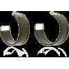 Jacquemus Leather Hoop Earrings - Leggings -