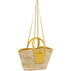 Jacquemus Le panier Soleil Handmade stra - Poštarske torbe -