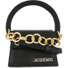 Jacquemus black chain mini-bag - Torebki -
