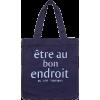 Jaju Cotton Tote Bag - Hand bag -