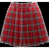 Japanese Pleated Skirt  - Skirts -