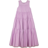 Japanese Cotton Tiered dress - Dresses -