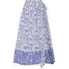 Java Cotton Printed Midi Skirt - Gonne -