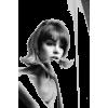 Jean Shrimpton model photo - Uncategorized -