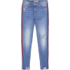 Jeans with side stripes - Traperice -