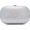 Jeffrey Levinson Elina Mirrored Aluminum - Clutch bags -