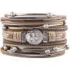 Jenia Leather Wrap Bracelets - Bracelets -