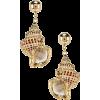 Jennifer Behr Marina Earrings im Gold | - Earrings -