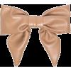 Jennifer Behr leather bow hair clip - Uncategorized -