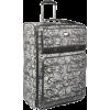 "Jessica Simpson Luggage Signature Jacquard 28"" Expandable Upright Black - Travel bags - $113.99"