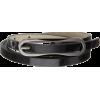 Jessica Simpson Women's 3/8 Inch Elongated Buckle Super Skinny Belt Black - Belt - $28.00