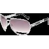 Jessica Simpson Women's J446 SLVBL Aviator Sunglasses - Sunglasses - $43.04
