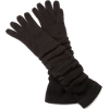 Jessica Simpson Women's Rouched Knit Glove Black - Gloves - $21.00