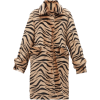 Jillian Lungo zebra-print shearling coat - Kurtka -