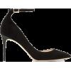 Jimmy Choo Black Suede Lucy Heels  - Klasični čevlji -