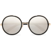 Jimmy Choo Round Glasses - Sunglasses -