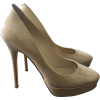 Jimmy Choo Beige Patent Leather Shoes - Classic shoes & Pumps -
