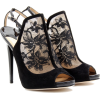 Jimmy Choo Black Lace Heels - Classic shoes & Pumps -