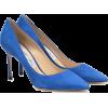 Jimmy Choo - Blue suede pumps - Classic shoes & Pumps -