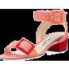 Jimmy Choo Dacha Low-Heel Suede Colorblo - Sandale - $695.00  ~ 596.93€