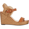 Jimmy Choo Delphi Leather Espadrille Wed - Sandals -