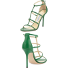 Jimmy Choo Green Sandals - Sandały -