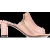 Jimmy Choo Leather Mules - Sandale -