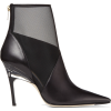 Jimmy Choo SIOUX 100 Black Nappa Leather - ブーツ -