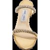 Jimmy Choo Shai Crystal-Embellished Meta - Sandals - $925.00