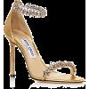 Jimmy Choo Women's Shiloh 100 Crystal Em - Sandals -