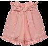 Jonathan Simkhai High-Waisted Belted Cot - Shorts -