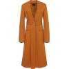 Joseph Cayle Belted Wool Drill Collarles - Jacket - coats -