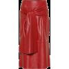 Joseph Renne leather midi skirt - Skirts -