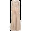 Jovani Embellished Long-Sleeved Gown - Dresses -