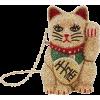 Judith Leiber Beckoning Meneki-Neko Cat - Clutch bags -