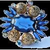 #Juliana #Rhinestone #Brooch #Jewelry - Other jewelry - $63.00  ~ 54.11€