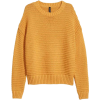 Jumper H&M yellow - Pullovers -