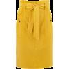 Jupe paper bag femme ocre PROMOD - Faldas -