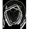 KARL LAGERFELD Patterned modal scarf - Šalovi -