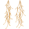 KARRY GALLERY  Long Twigs gold-plated dr - Earrings -