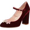 KATE SPADE velvet mary jane shoe - Sapatos clássicos -