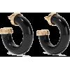 KENNETH JAY LANE Gold-plated resin earri - Earrings -