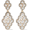 KENNETH JAY LANE Gold-plated, faux pearl - Earrings -