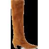 KHAITE Suede knee boots - Stiefel -