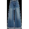 KHAITE mid rise wide leg jeans - Traperice -